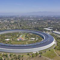 Un nuevo vídeo a vista de dron muestra el Apple Park prácticamente vacío