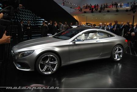 Salón de Frankfurt 2013 - Mercedes Concept S Class Coupe