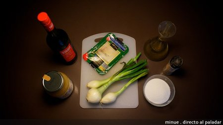 Bacalao encebollado - ingredientes