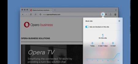 Opera se mete en el debate de los adblockers integrando uno en su navegador de escritorio