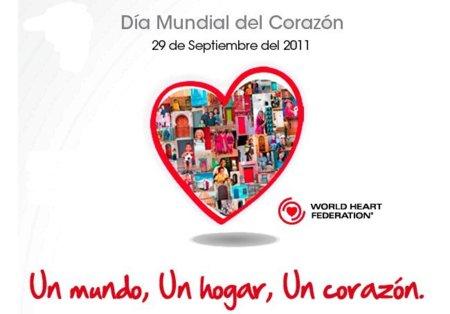 En el Día Mundial del Corazón haz algo por su salud