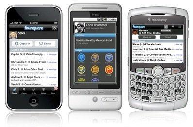 Foursquare plataformas