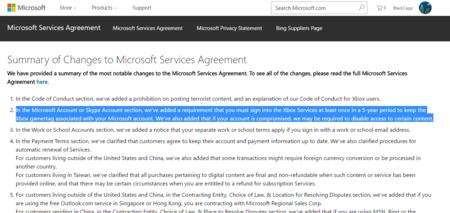 Microsoft Contrato