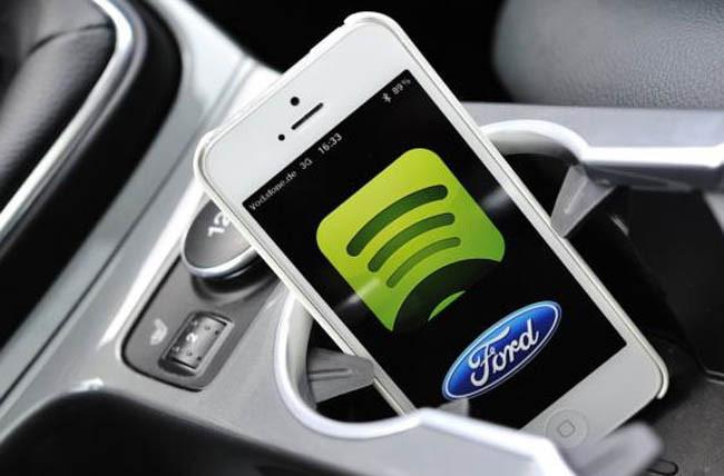 Ford y Spotify