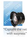 Netfixer, tomando capturas de sitios web