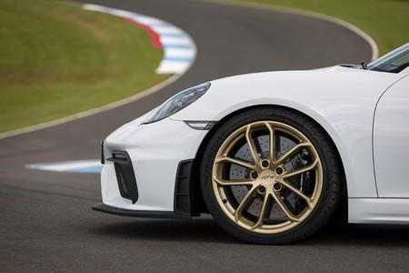 Porsche 718 Cayman GT4 llanta delantera