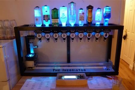 The Inebriator, sirve cocteles de forma automatizada gracias a Arduino