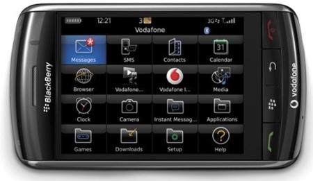 Rumores sobre una Blackberry Storm 2
