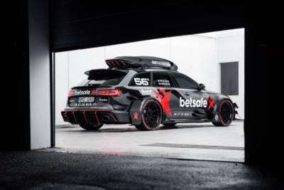 Jon Olsson y su nuevo Audi RS6 DTM