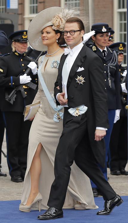 Victoria de Suecia Holanda rey coronación