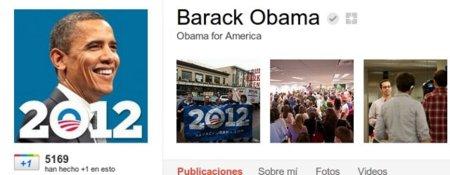 Barack Obama se une a Google+