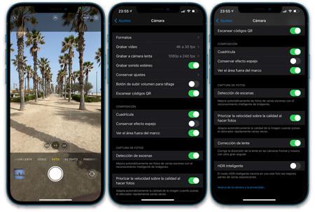 Iphone 12 Pro Max Interfaz Camara