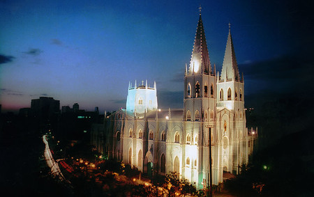 Basilica De San Sebastian Agustinos Recoletos Manila Filipinas