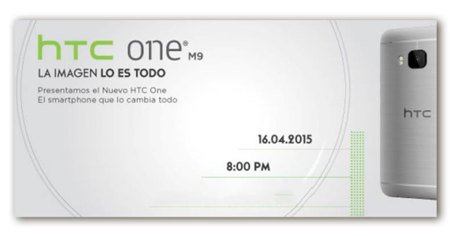 HTC One M9 ya tiene su fecha de anuncio en México: 16 de abril de 2015