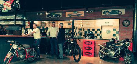 Así es Ace Cafe Barcelona: motos y coches a ritmo de rock'n'roll
