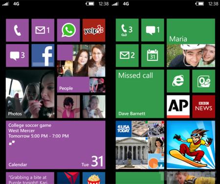 Windows Phone 8 estrenará pantalla de inicio