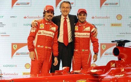 Fernando Alonso y Felipe Massa, pilotos Ferrari en 2012