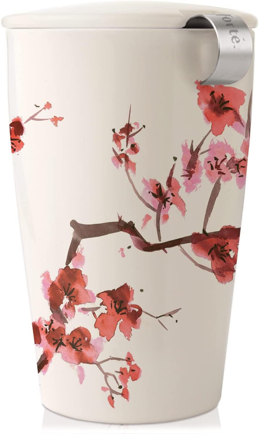 Taza cerámica KATI con infusor y tapa