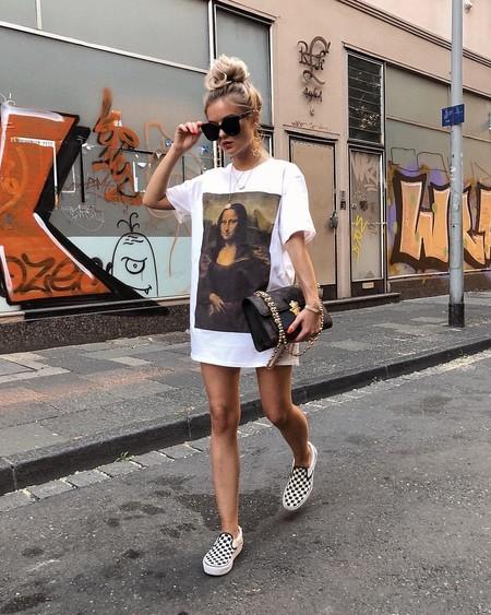 Camiseta Como Vestido