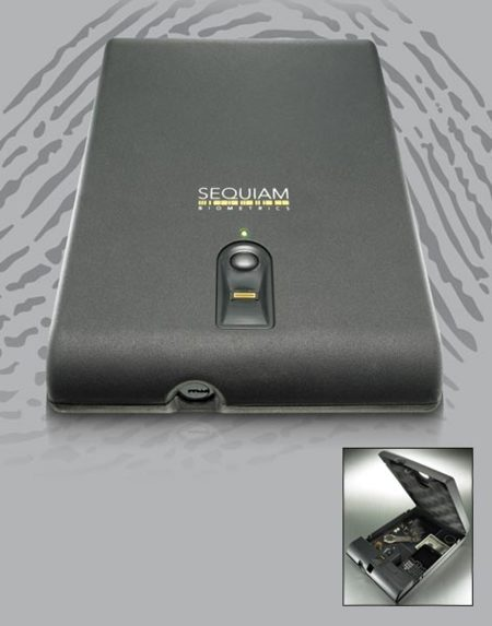 Sequiam BioBox, una caja con cierre biométrico