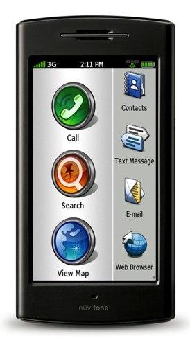 Nüvifone G60, el teléfono que necesita saber dónde está