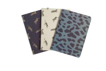 Muymucho Bts Cheetah Pack 3 Libretas Animal Print 2 99eur Es Fr