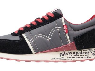 50% de descuento en las zapatillas Levi's Gilmore en gris. Pasan de 74,95  a 37,45 euros con envío gratis en Zalando
