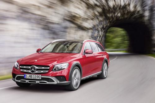 Mercedes-Benz Clase E All-Terrain: así es la variante más campera de la Clase E