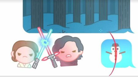 Os Star Wars The Force Awakens Emojis Video