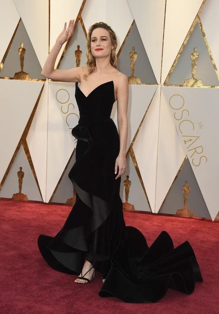 Brie Larson Oscar De La Renta Oscars2017