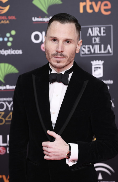 Ruben Ochandiano Goya Cinema Awards 2020 Red Carpet 02