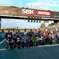 Los pilotos de motos discapacitados ya tienen su propia carrera en España: la Handy-ESBK