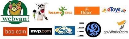 Los diez negocios estrella de la web que fallaron