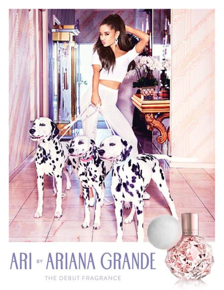 Ariana Grande no se ha hecho esperar... Su primer perfume ya está aquí