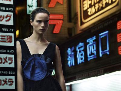 Emporio Armani campaña Otoño-Invierno 2012/2013: paseando por Tokio