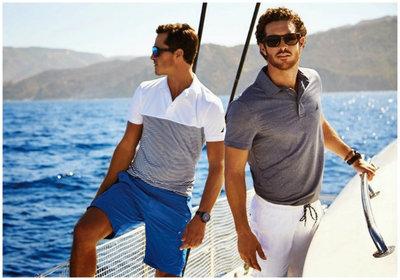 Qué ganas de verano viendo la campaña de Nautica para la próxima temporada