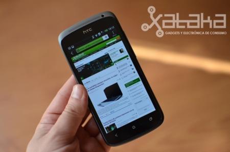 HTC One S navegador
