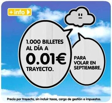 Vueling: Billetes a 0,01 euros