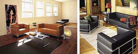 LC2 y LC3 de Le Corbusier