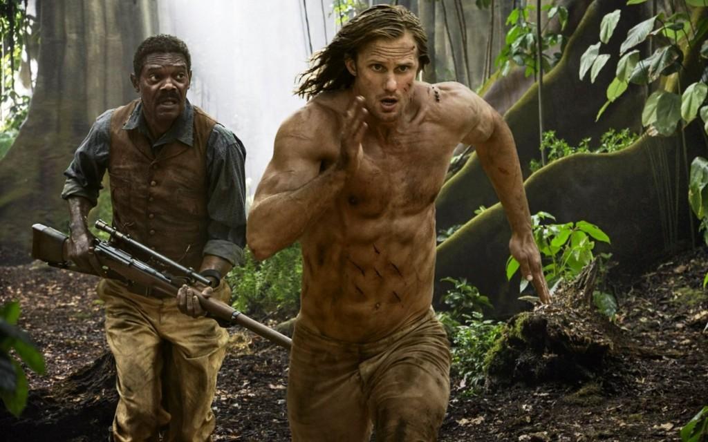 Alexander Skarsgard Samuel L Jackson La Leyenda De Tarzan