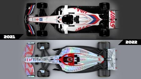 Formula 1 2022 autos regulaciones comparación 5