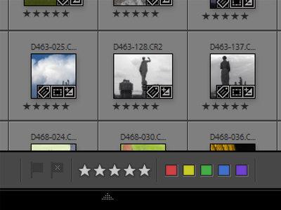 Clasificar nuestras fotografías en Adobe Lightroom