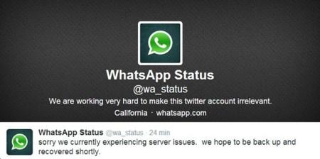 No es tu móvil, WhatsApp no funciona ahora mismo [Solucionado]