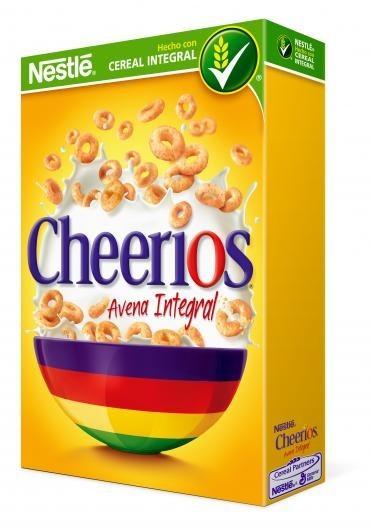 Cheerios avena integral de Nestle