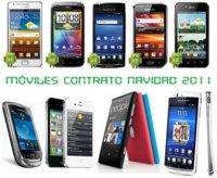 Comparativa precios de móviles más destacados para la campaña de navidad 2011