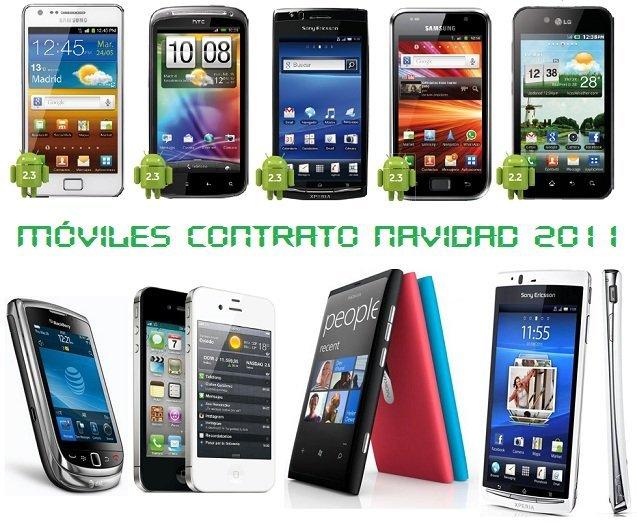 Comparativa Precios Smartphones Navidad 2011