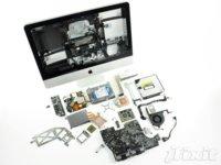 Resultados de Geekbench 2 y despiece de iFixit de los nuevos iMac
