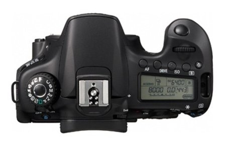 Canon 60D controles