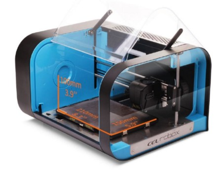 Dimensiones máximas de impresión en la Cel Robox