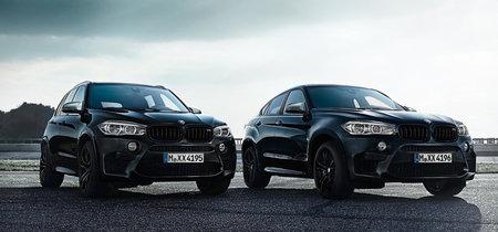 BMW X5 M y X6 M Black Fire Edition: tan brutos como siempre, pero más siniestros